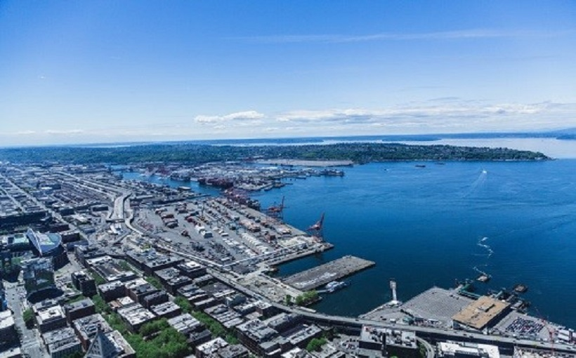 Seattle industrial area