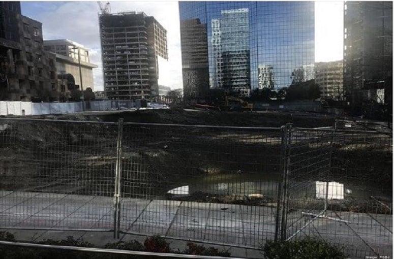 Bellevue building construction begins
